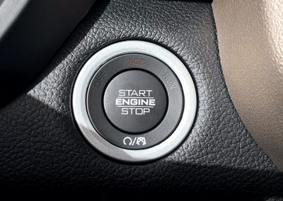 Ram truck push start button