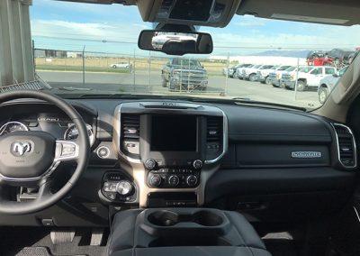 Ram truck dashboard