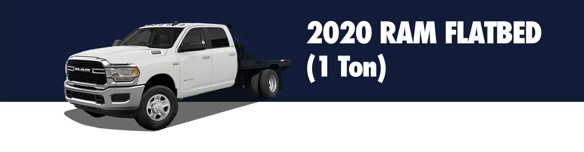 1 Ton Pickup Flat bed