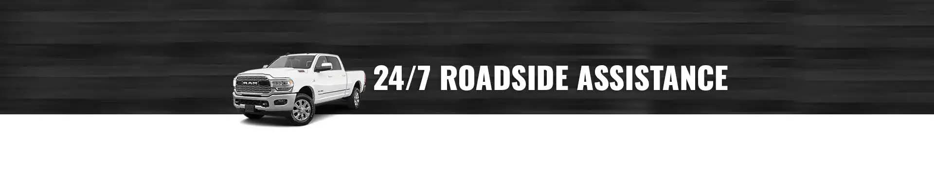24/7 Roadside assistance